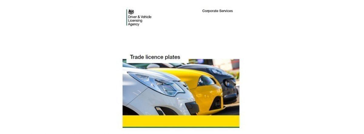 Trade Licenceplates Large