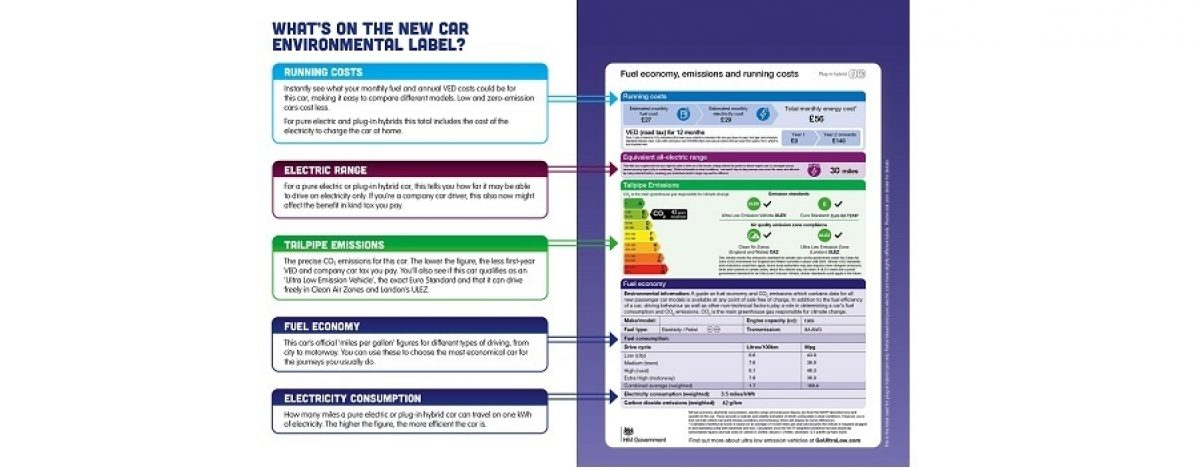 New Car Label infographic 4