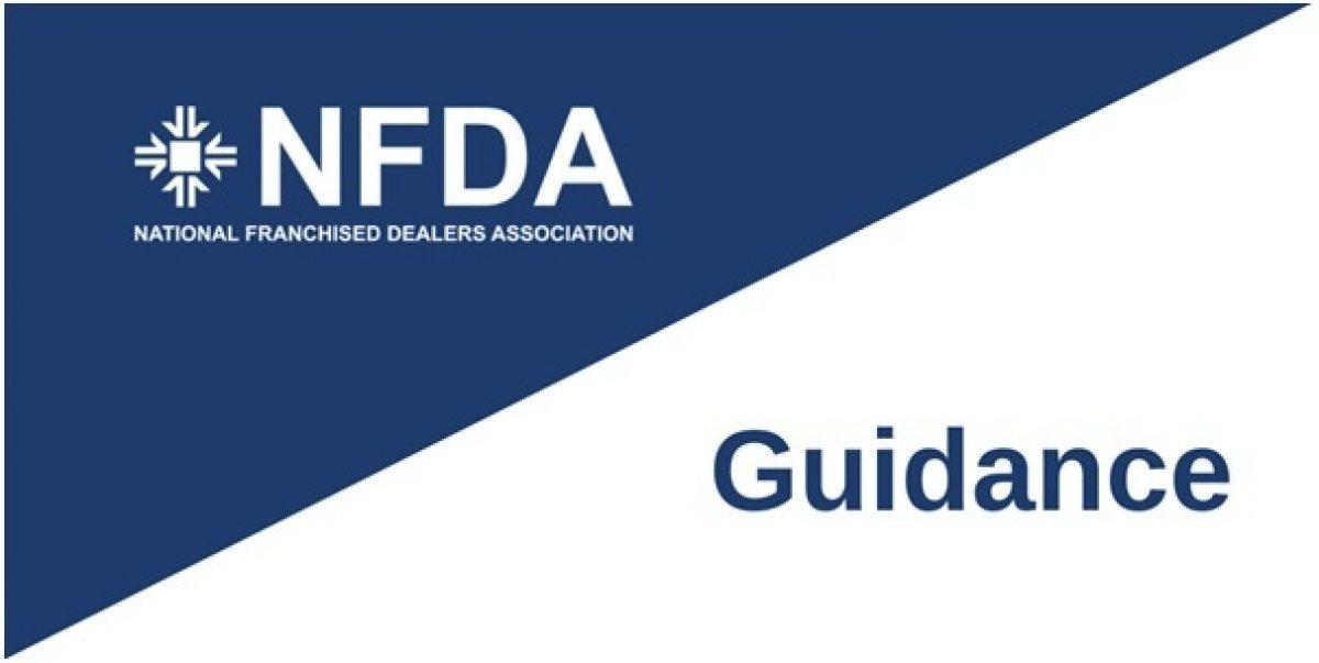 NFDA Guidance